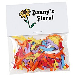 View a larger, more detailed picture of the Flower Seed Multicolor Confetti Pack