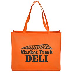 View a larger, more detailed picture of the Celebration Shopping Tote Bag - 16 x 20
