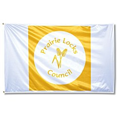 View a larger, more detailed picture of the Promotional Nylon Flag - 3 x 5
