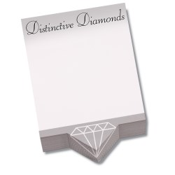 View a larger, more detailed picture of the Bic Beveled Sticky Note Pad - Triangle Shape