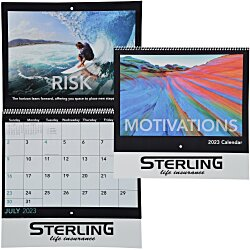 View a larger, more detailed picture of the Motivations Calendar - Spiral