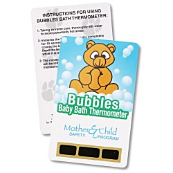 View a larger, more detailed picture of the Bath Safety Thermometer - Bear