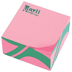 View a larger, more detailed picture of the Neon Post-it&reg Cubes - 285 Sheets