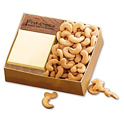 View a larger, more detailed picture of the Walnut Post-it&reg Note Holder with Cashews