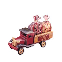 View a larger, more detailed picture of the Vintage Pick-up Truck w Almonds & Cashews