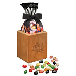 View a larger, more detailed picture of the Beech Pencil Cup w Jelly Beans