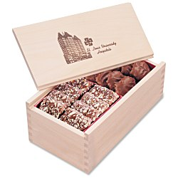 View a larger, more detailed picture of the Wooden Box w Toffee & Turtles