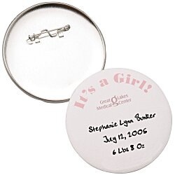 View a larger, more detailed picture of the Keepsake Button - 3 Round