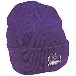 View a larger, more detailed picture of the Knit Beanie with Cuff