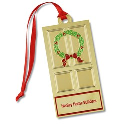 View a larger, more detailed picture of the Holiday Ornament - Door