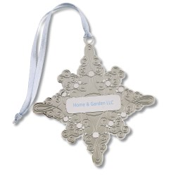 View a larger, more detailed picture of the Holiday Ornament - Snowflake