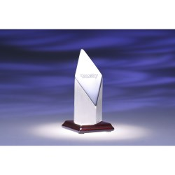 View a larger, more detailed picture of the Coluna Aluminum Award - 5 - Closeout