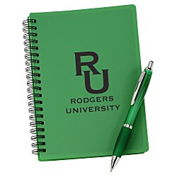 View a larger, more detailed picture of the Pocket Buddy Notebook Set - Translucent Barrel