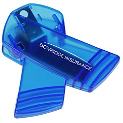 View a larger, more detailed picture of the Keep-it Clip - Awareness Ribbon - Translucent