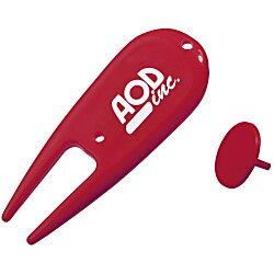 View a larger, more detailed picture of the Divot Repair Tool w Ball Marker