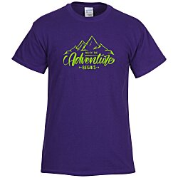 View a larger, more detailed picture of the Gildan 6 1 oz Cotton T-Shirt - Men s - Screen - Colors