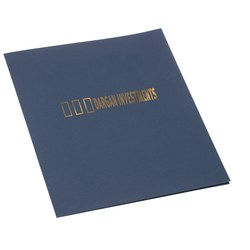 View a larger, more detailed picture of the Paper Presentation Folder - Linen