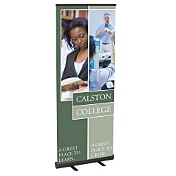 View a larger, more detailed picture of the Economy Retractor Banner Display - 32