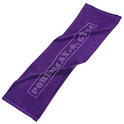 View a larger, more detailed picture of the Colored Workout Towel