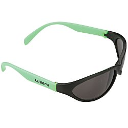 View a larger, more detailed picture of the Wave Rubberized Sunglasses