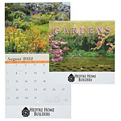 View a larger, more detailed picture of the Beautiful Gardens Calendar - Spiral