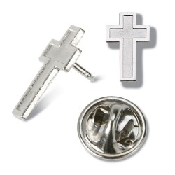 View a larger, more detailed picture of the Lapel Pins - Cross - Unimprinted