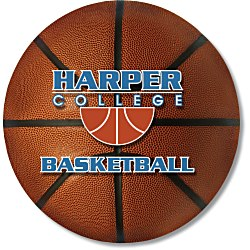 View a larger, more detailed picture of the Action Mouse Pad - Basketball