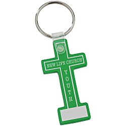 View a larger, more detailed picture of the Block Cross Soft Key Tag