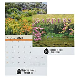 View a larger, more detailed picture of the Beautiful Gardens Calendar - Stapled