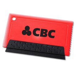 View a larger, more detailed picture of the Credit Card Size Squeegee Scraper