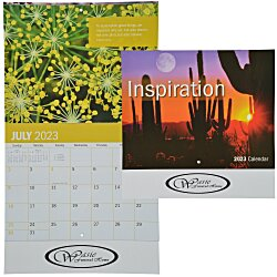 View a larger, more detailed picture of the Inspirational Calendar - Stapled