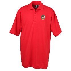 View a larger, more detailed picture of the 60 40 Blend Pique Sport Shirt - Men s