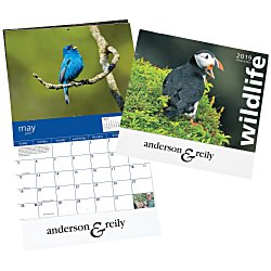 View a larger, more detailed picture of the 4imprint Exclusive 2015 Wildlife Calendar