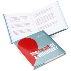 View a larger, more detailed picture of the Gift of Inspiration Book The Heart of a Volunteer