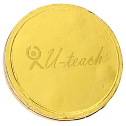 View a larger, more detailed picture of the Chocolate Coin - 25 oz 