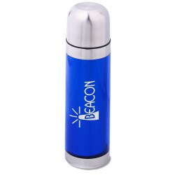 View a larger, more detailed picture of the Bullet Vacuum Bottle - 16 oz - Translucent