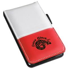 View a larger, more detailed picture of the Dual Tone Silver Super Jotter