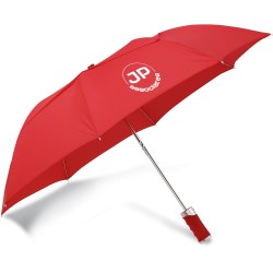 View a larger, more detailed picture of the Zephyr Folding Umbrella w Gel Grip - Closeout