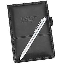 View a larger, more detailed picture of the Windsor Reflections Jotter Set - Debossed