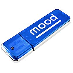 View a larger, more detailed picture of the Square-off USB Flash Drive - 256MB