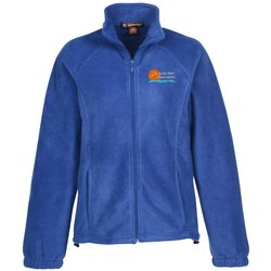 View a larger, more detailed picture of the Harriton Full Zip Fleece - Ladies 