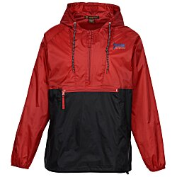 View a larger, more detailed picture of the Harriton Packable Nylon Jacket - Embroidered