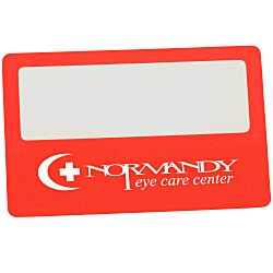 View a larger, more detailed picture of the Credit Card Size Magnifier
