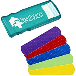 View a larger, more detailed picture of the Kidz Bandage Dispenser Translucent - Colors