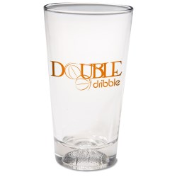 View a larger, more detailed picture of the Sport Brew Pub Glass - 16 oz - Basketball