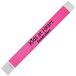 View a larger, more detailed picture of the Tyvek Wristbands