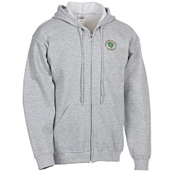 View a larger, more detailed picture of the Gildan Full-Zip Hoodie - Men s - Embroidered
