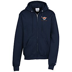 View a larger, more detailed picture of the Champion Full-Zip Hoodie Embroidered