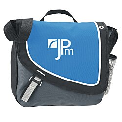 View a larger, more detailed picture of the A Step Ahead Messenger Bag - Screen