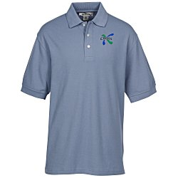 View a larger, more detailed picture of the Caliber 100 Baby Pique Polo - Men s
